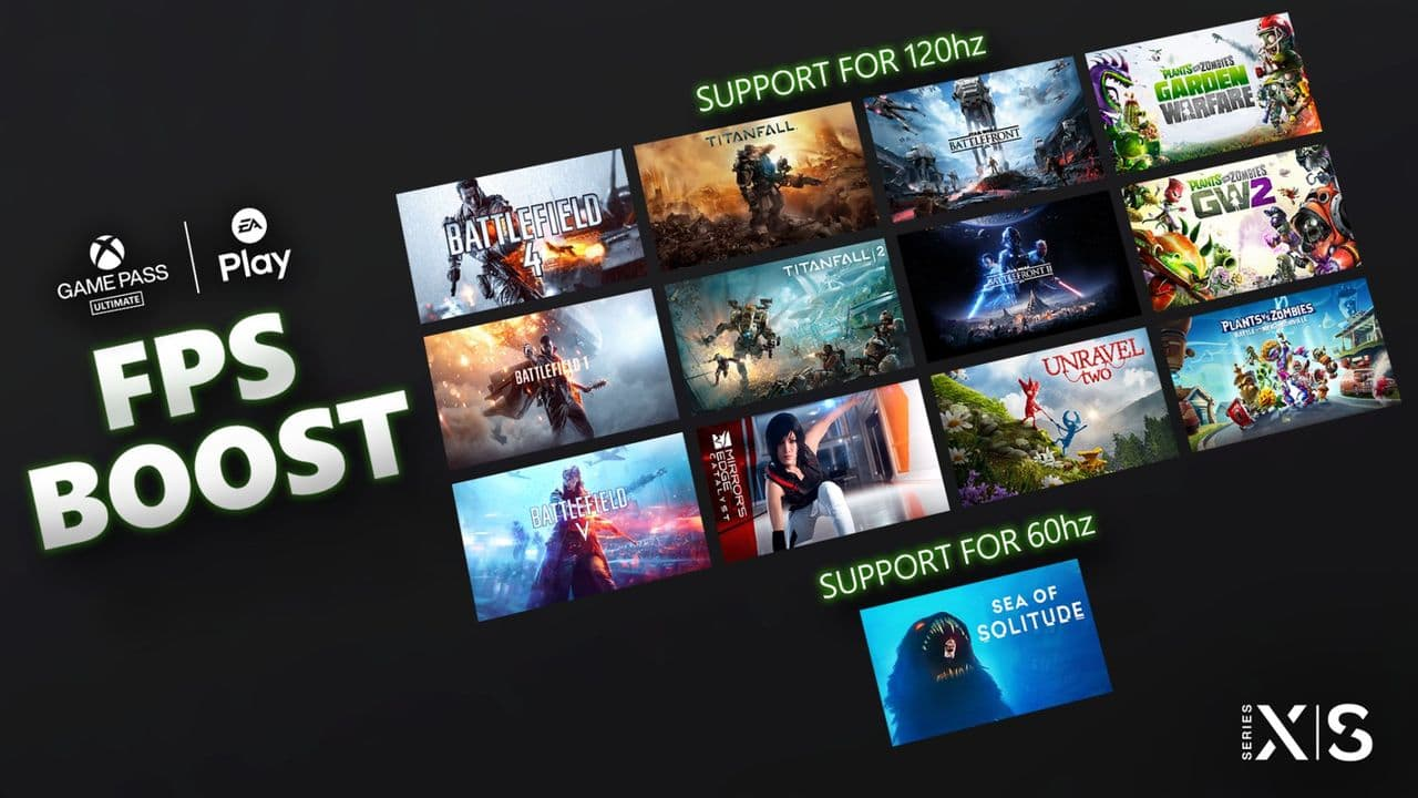 Microsoft has now released FPS Boost for EA games