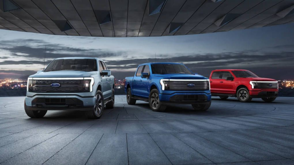 """Ford launches """"most innovative electric pickup"""" ever"""