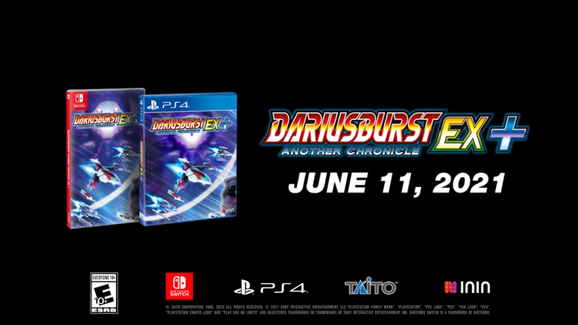 DariusBrust AC appears on Switch and PS4