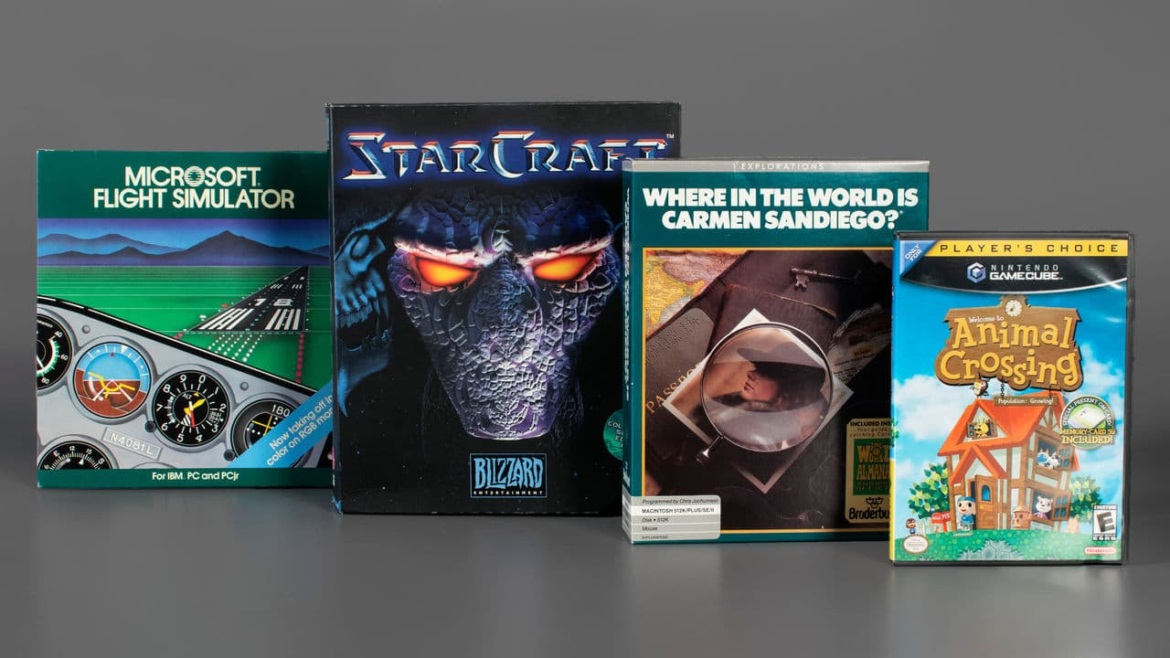 World Video Game Hall of Fame now with new games
