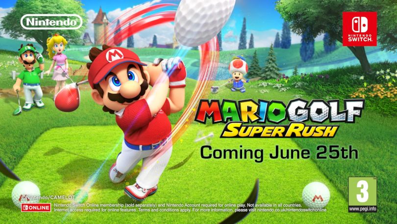 More details about Mario Golf: Super Rush in new trailer