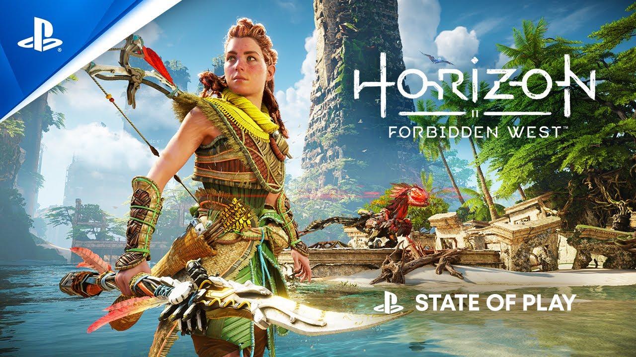 Horizon Forbidden West's first gameplay impresses
