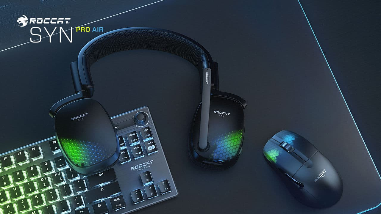 Roccat releases Syn Pro Air with 3D sound