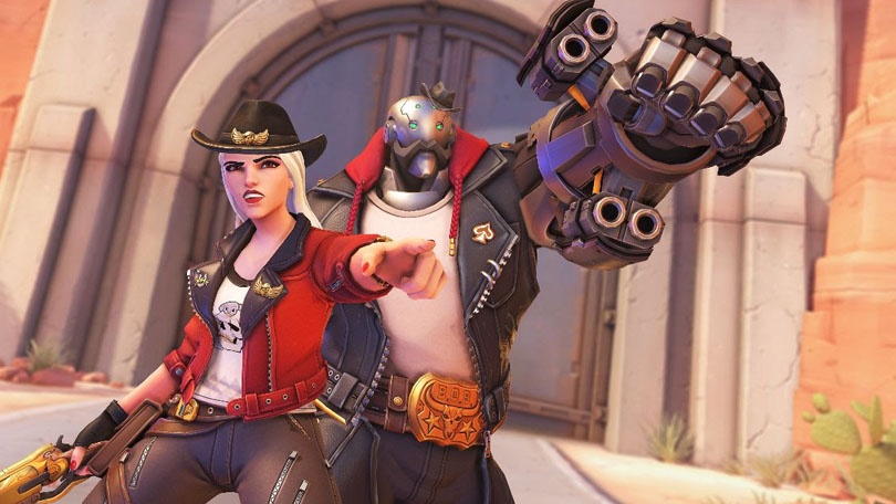 Ashe offers Overwatch players a challenge
