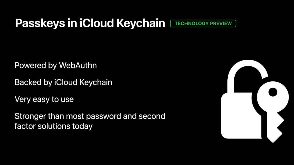 Apple is starting to test password-free logins