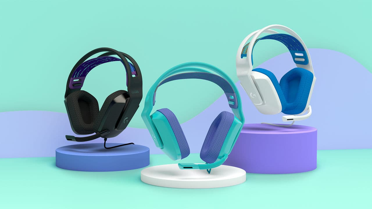 Logitech presents the new gaming headset G335