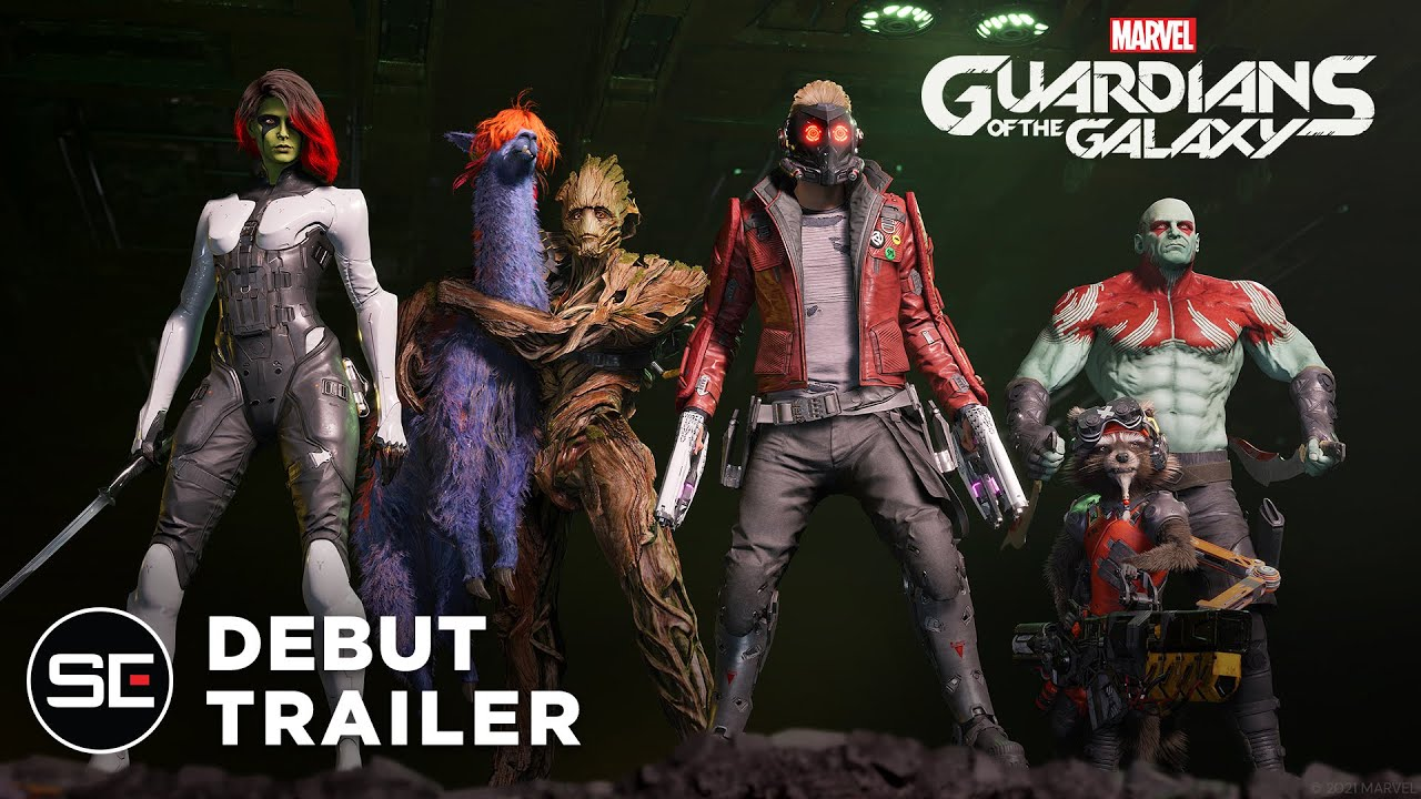 Marvel's Guardians of the Galaxy announced