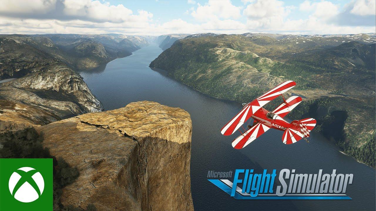 The Nordics look better in Microsoft Flight Simulator
