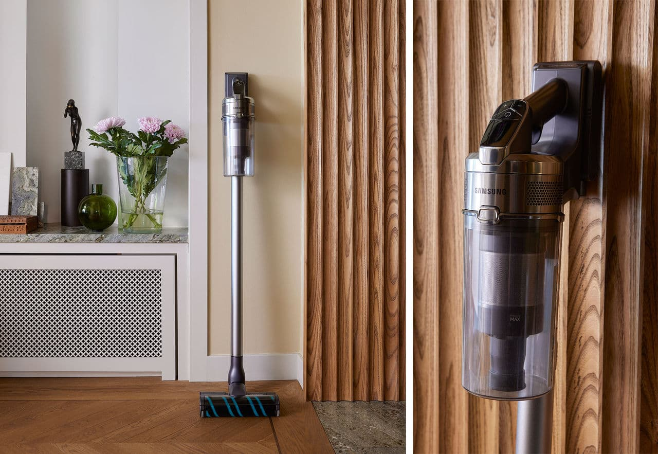 Samsung releases two new shaft vacuum cleaners