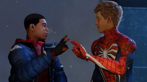 A new Spider-Man with Miles Morales in development?  A photo lets him think