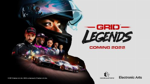 GRID Legends heat up the gum with an announcement trailer