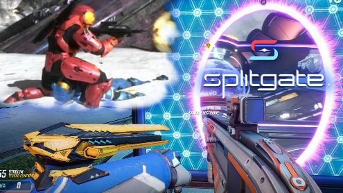 A Splitgate mode (free game) that we would like to see in Halo Infinite