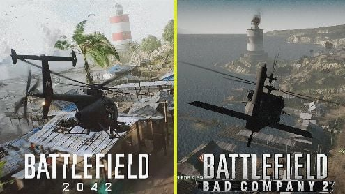 Comparison of maps remakes on Battlefied 2042