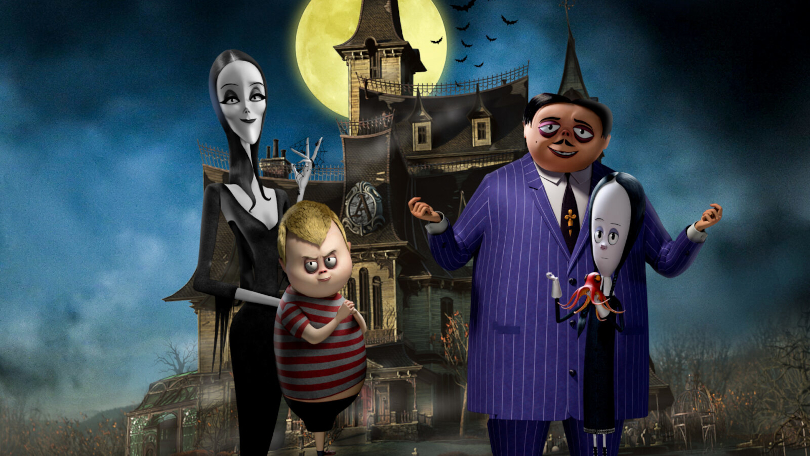 Family game night with the Addams Family this fall