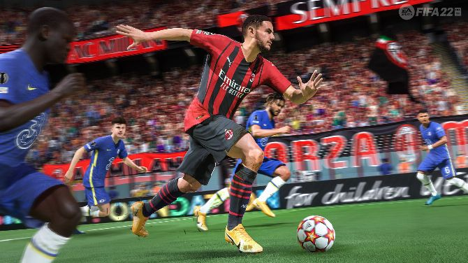 Our impressions (all fresh) on FIFA 22