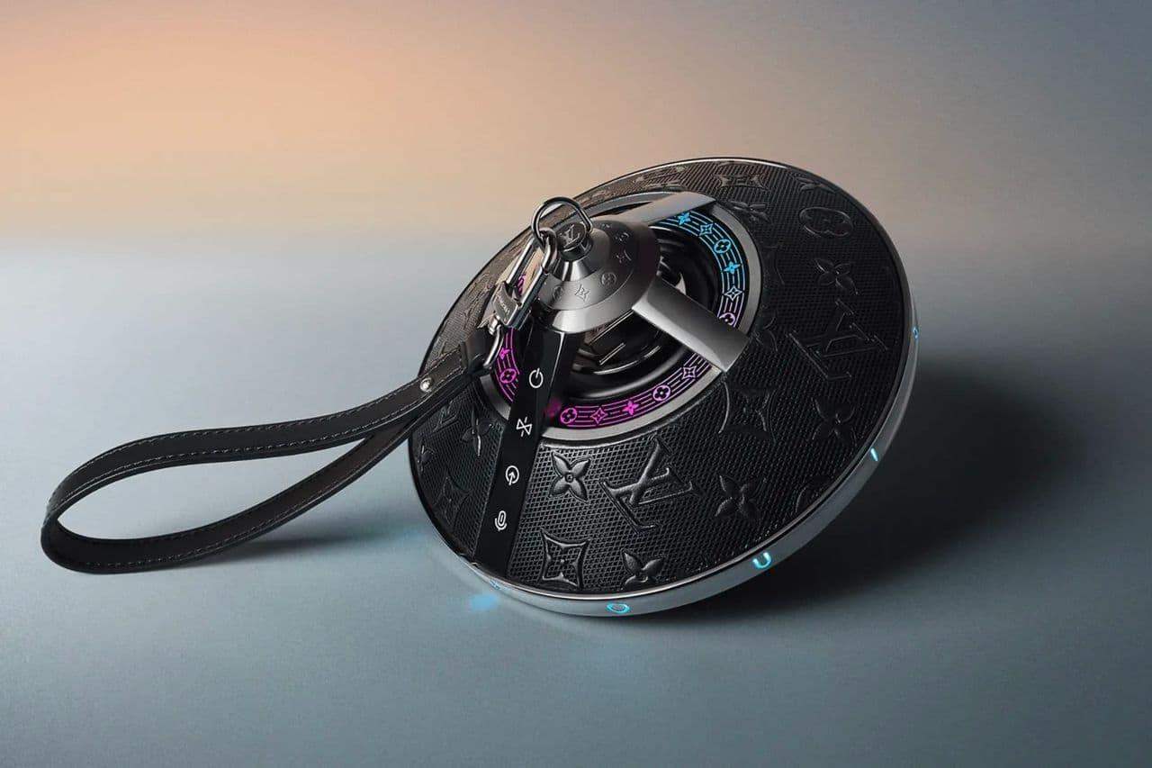 Louis Vuitton has released a wireless speaker