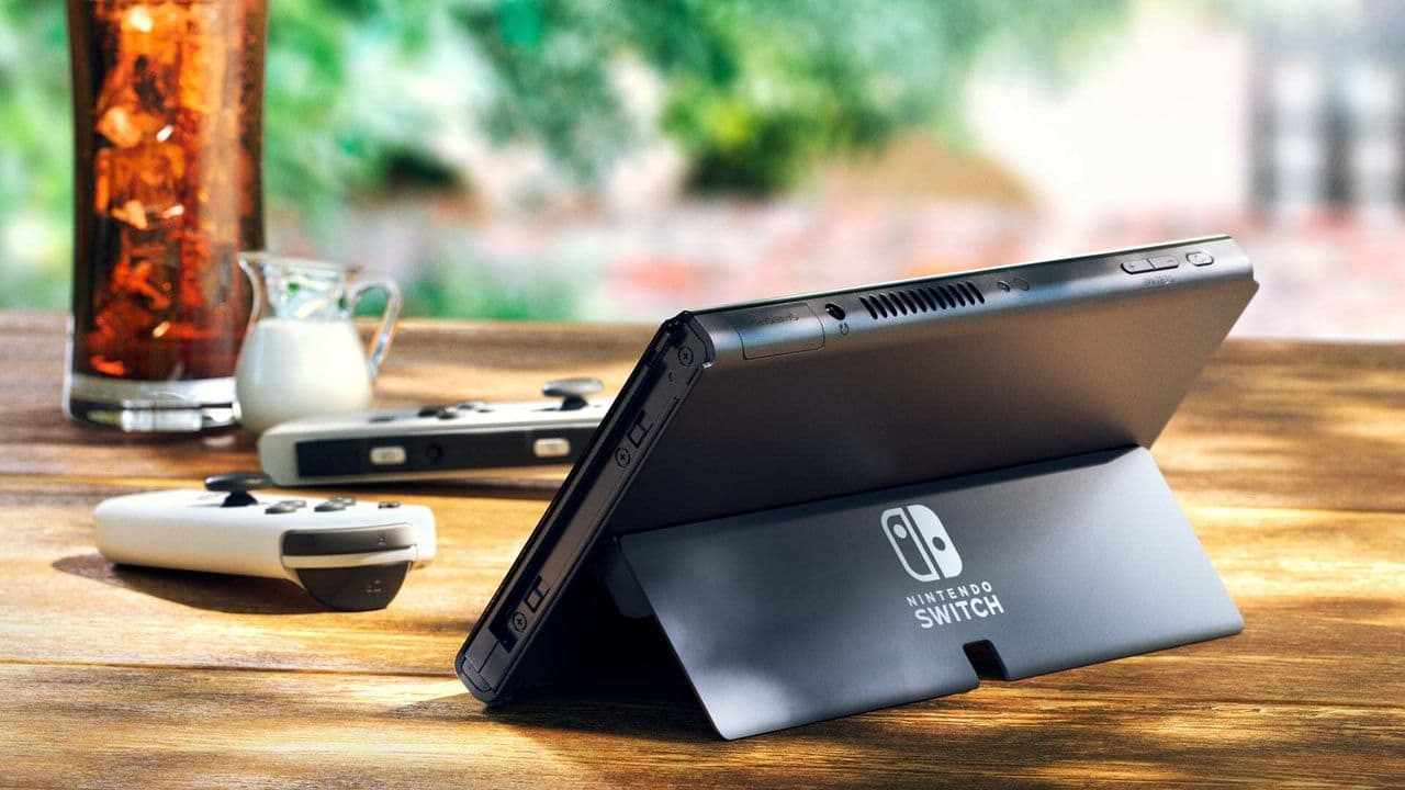 Nintendo surprises and presents Switch with OLED