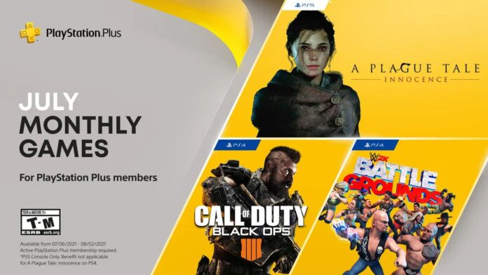 Playstation Plus games in July confirmed