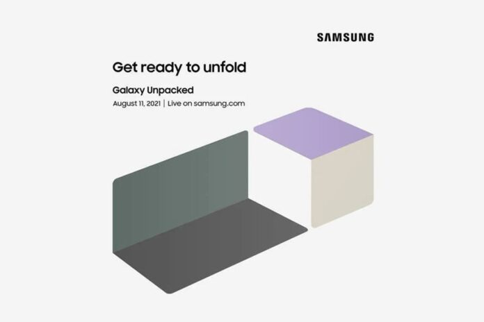 Samsung invites to Galaxy Unpacked event