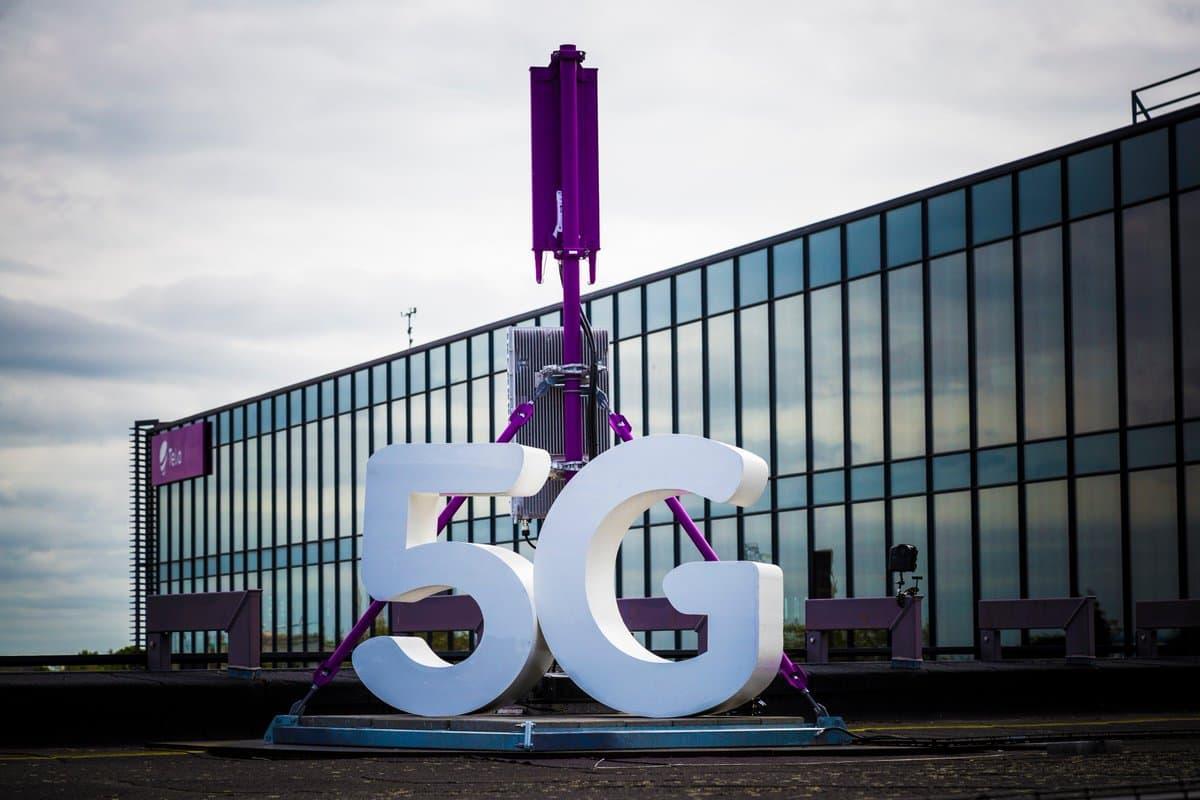 Telia has managed to measure over 2Gbit / s over 5G