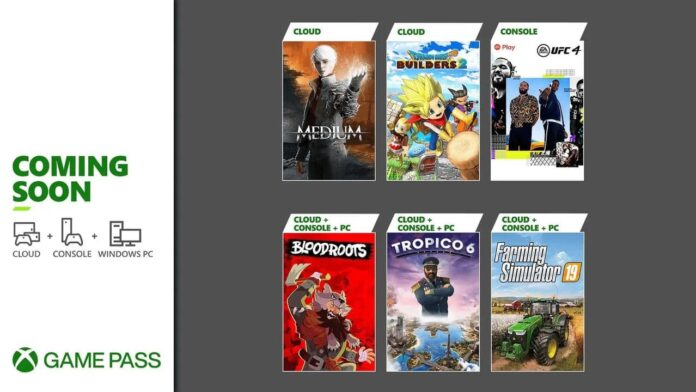 Xbox Game Pass update in July