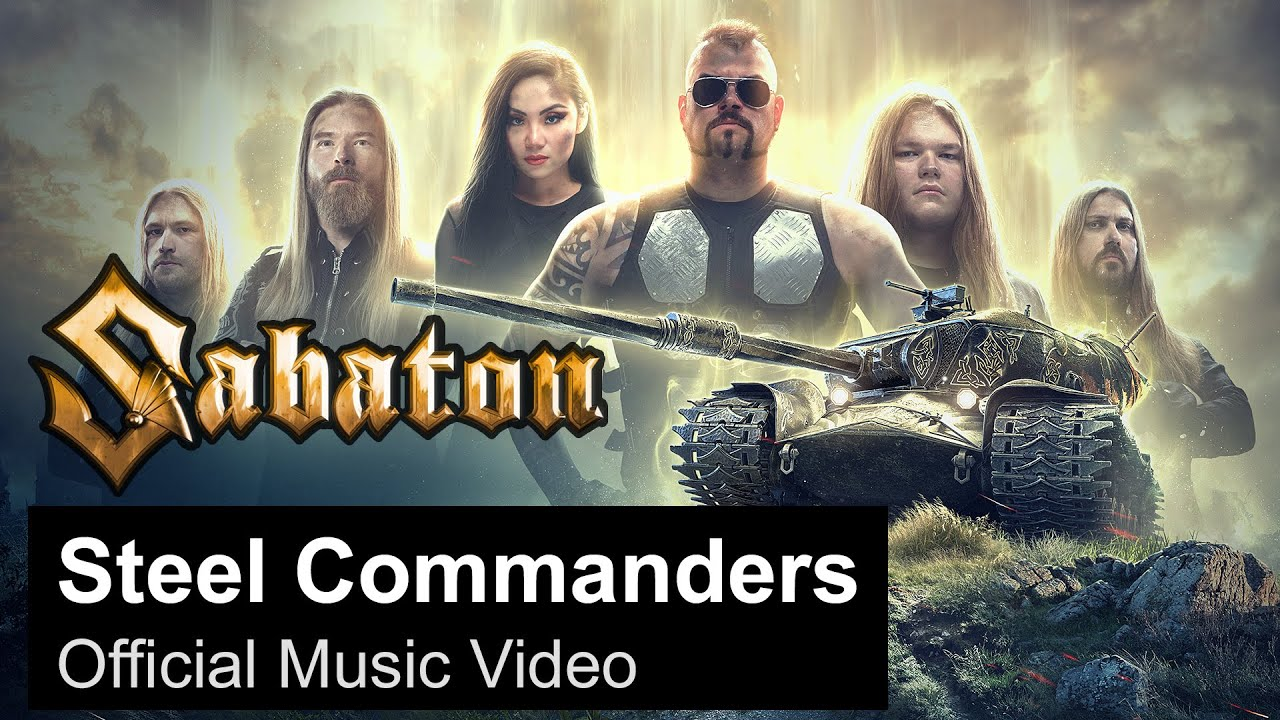 Sabaton releases music video with World of Tanks