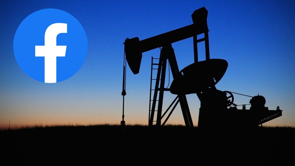 Facebook allows the fossil fuel industry to spread disinformation about the climate