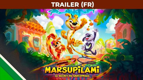 Marsupilami The Secret of the Sarcophagus in 1st video, between DK Country, Sonic and Rayman