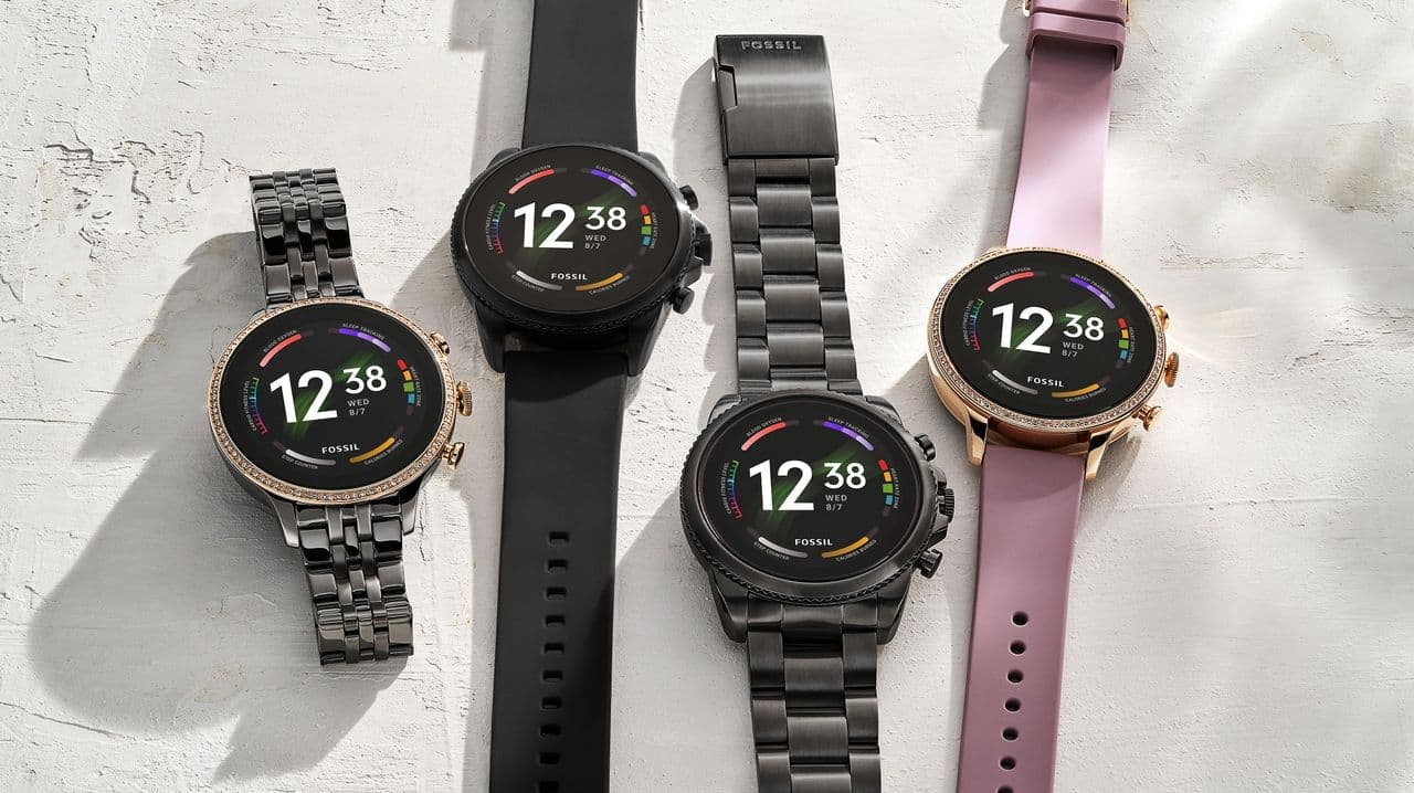 Fossil has presented new watches with Wear OS