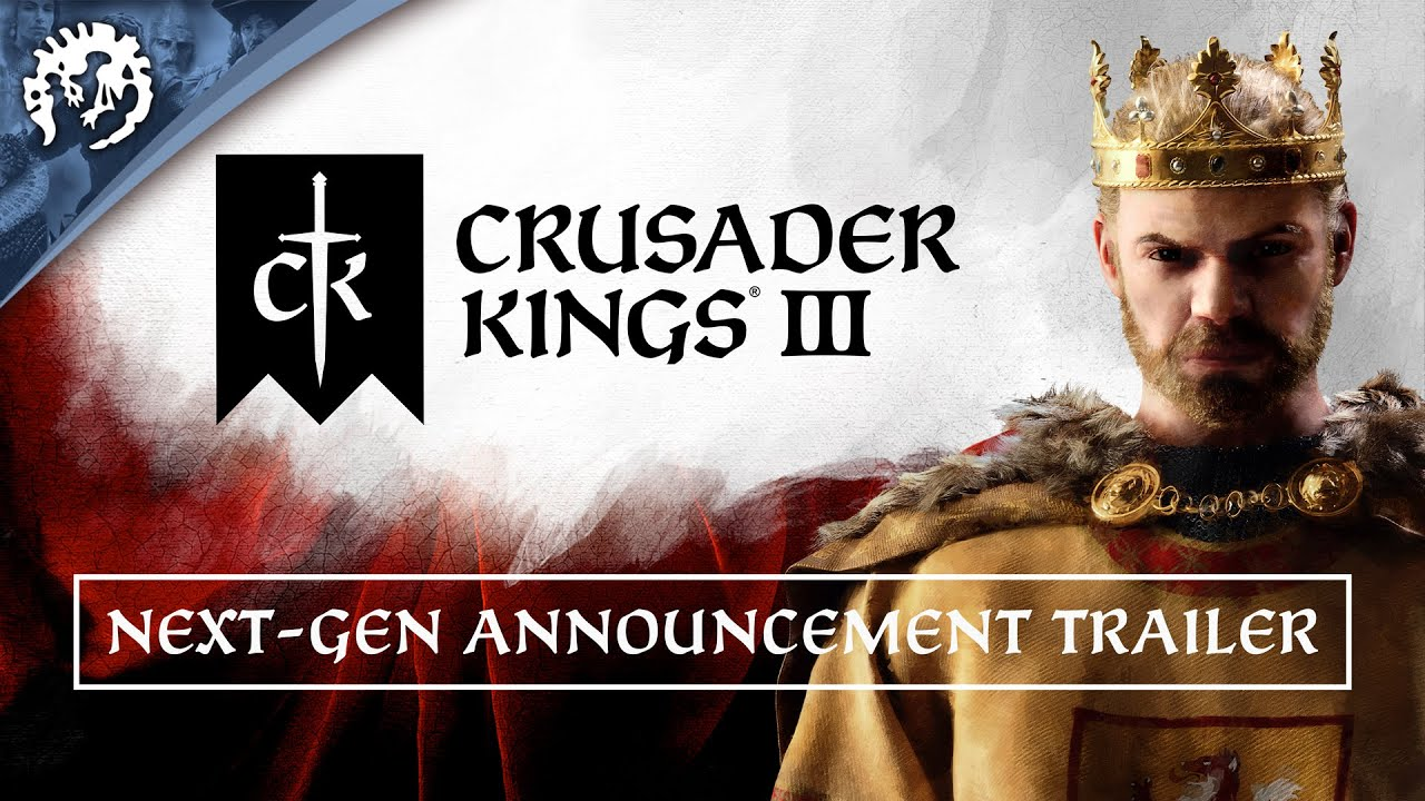 Crusader Kings III has been confirmed for console