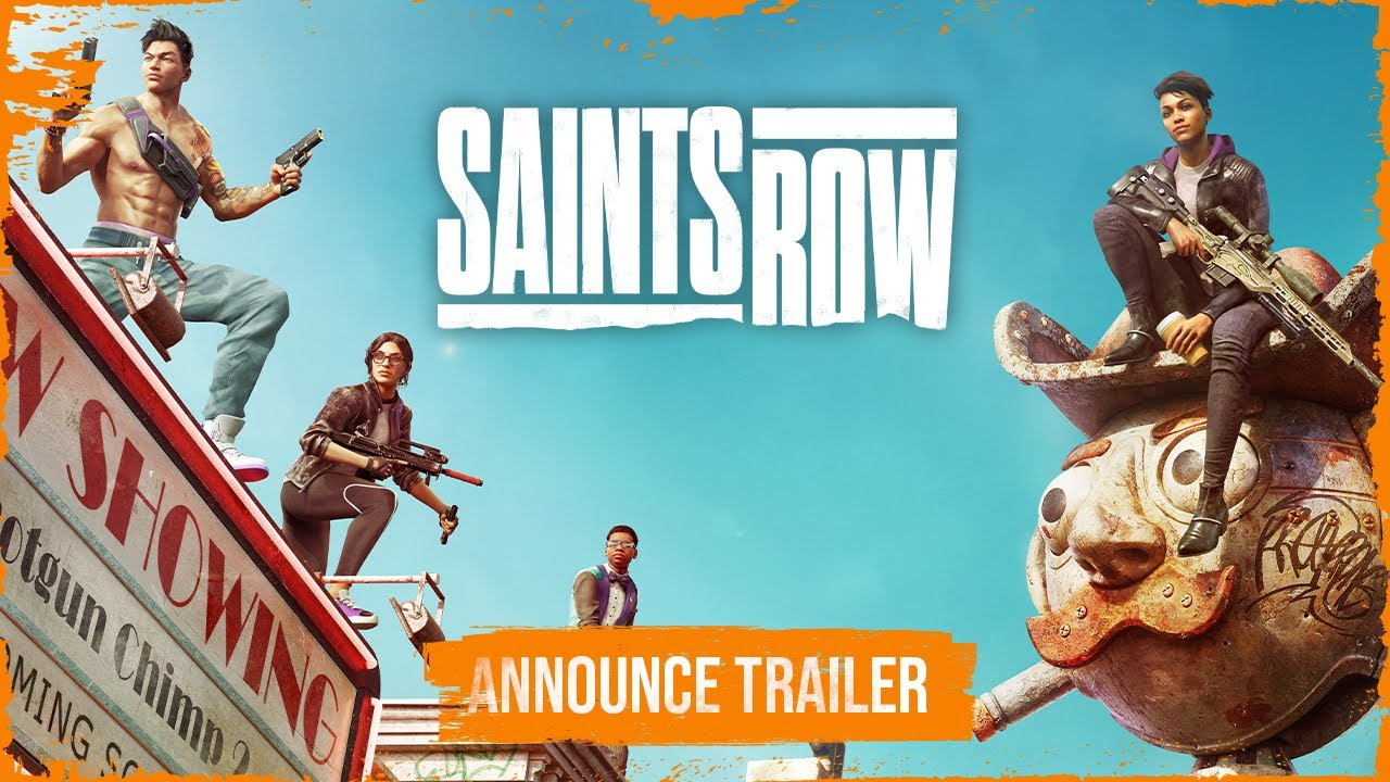 Saints Row has been announced and will be a reboot