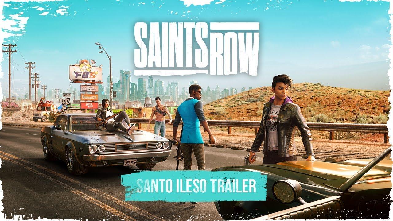 Saints Row has got a new trailer