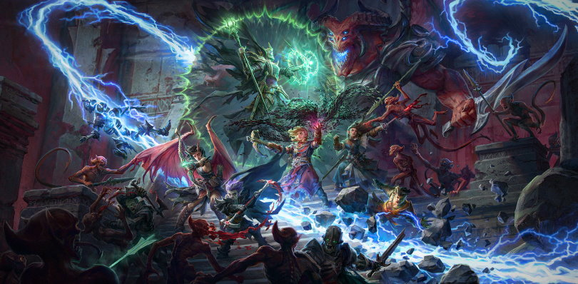 Listen to CRPG nerds, Pathfinder: Wrath of the Righteous on console in March