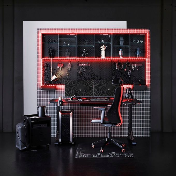 Ikea releases gaming furniture together with Asus ROG – desk, chairs and more