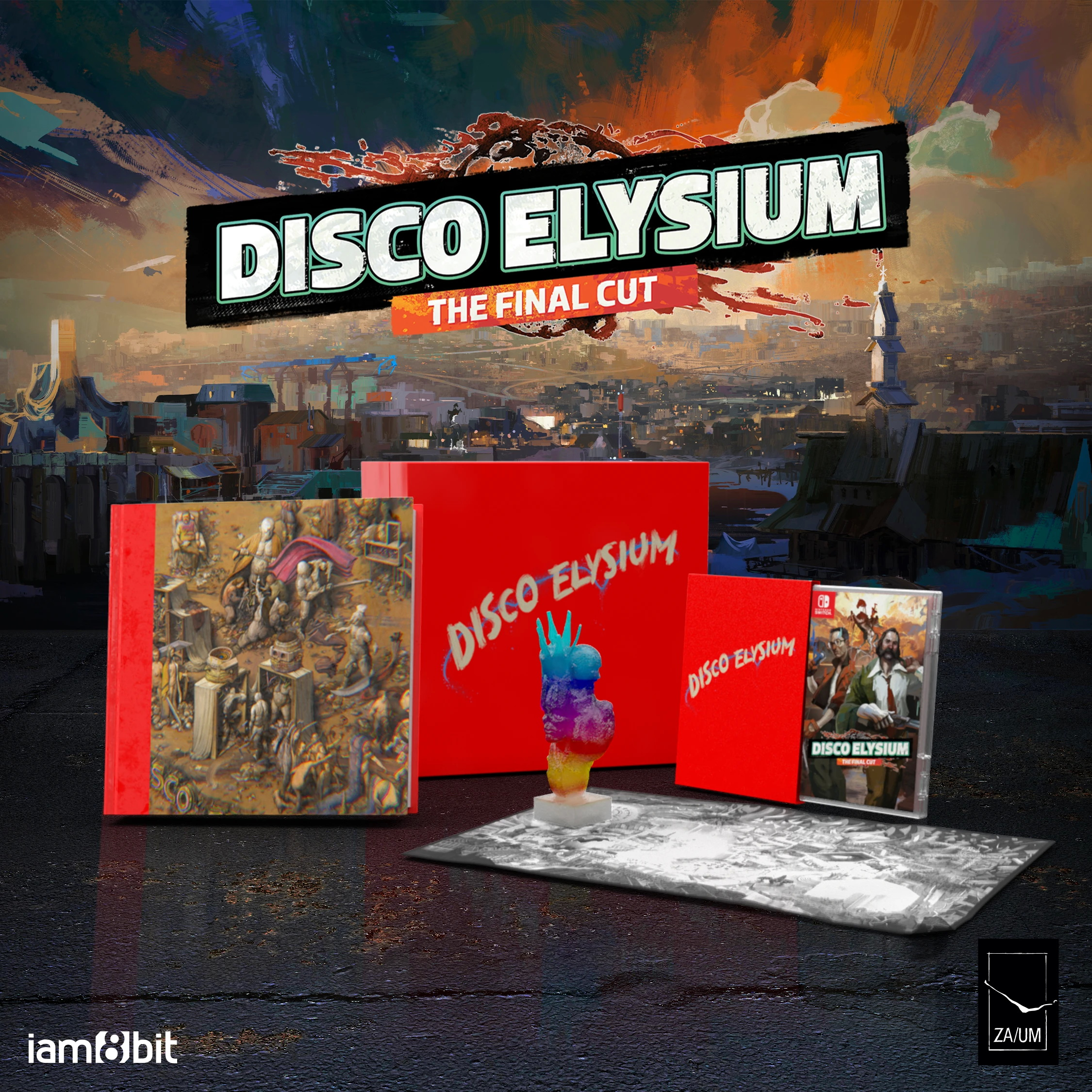 Disco Elysium remembers its Switch release date