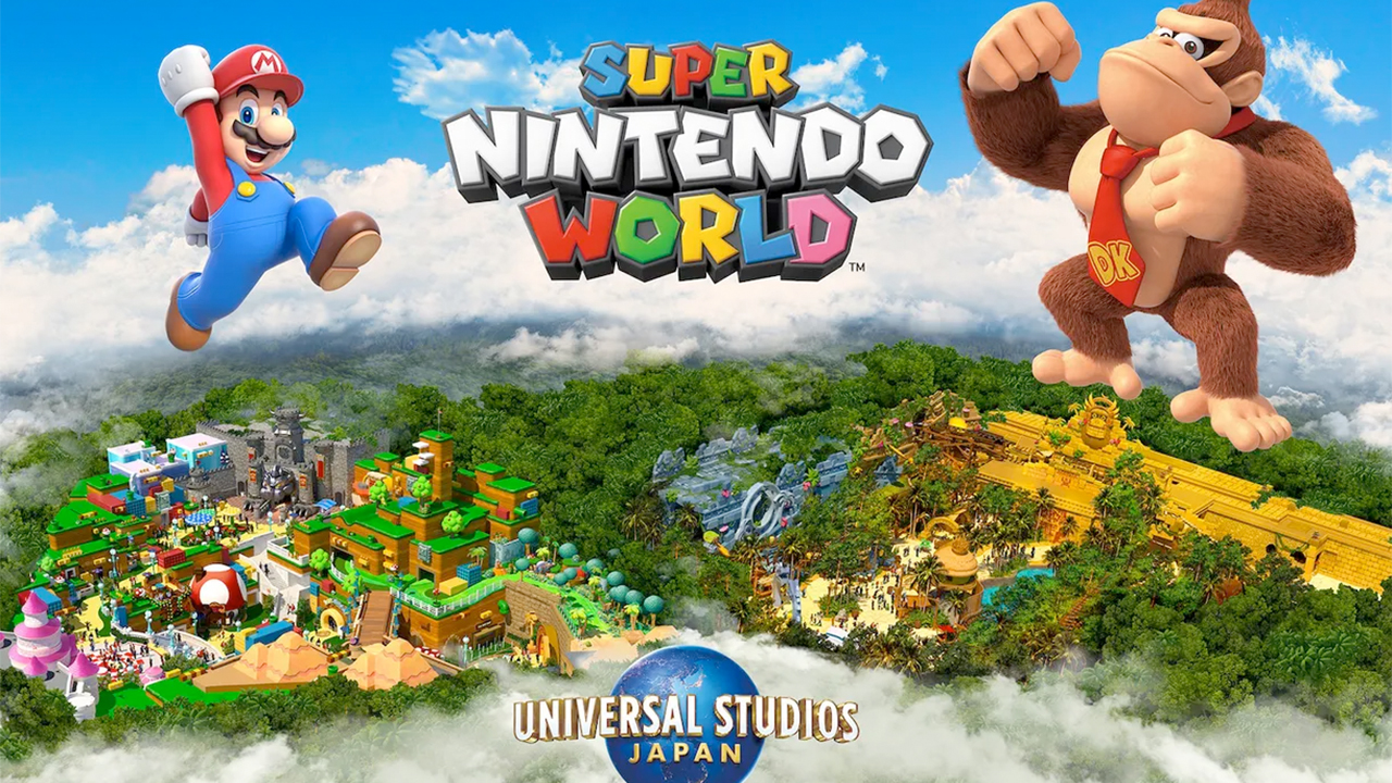 Super Nintendo World: Donkey Kong zone confirmed, info and opening date
