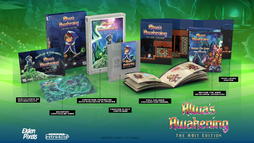 Elden Pixels releases Alwa's Collection – and an NES version of the original