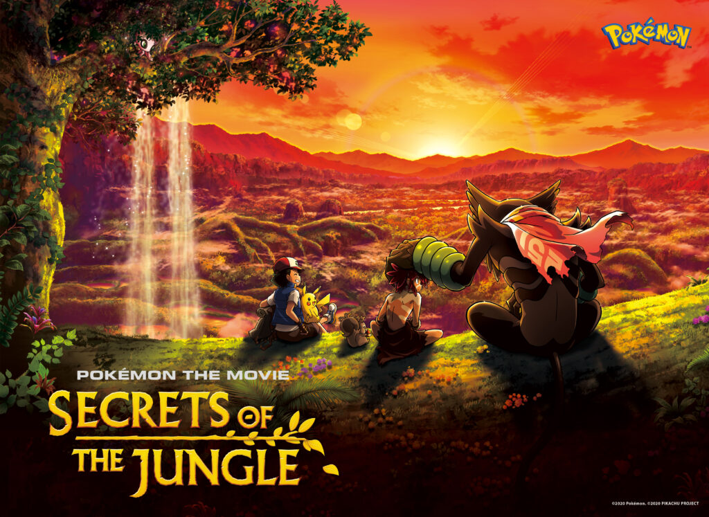 Pokémon Movie: Jungle Secrets Comes to Netflix!