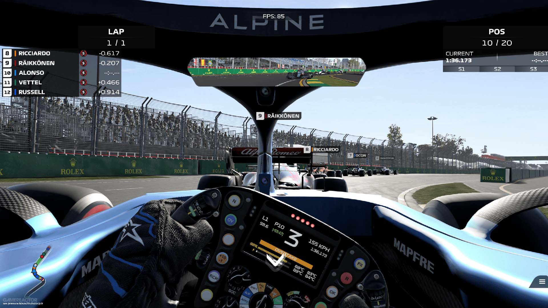 Review: F1 2021 – Teknikhype.se