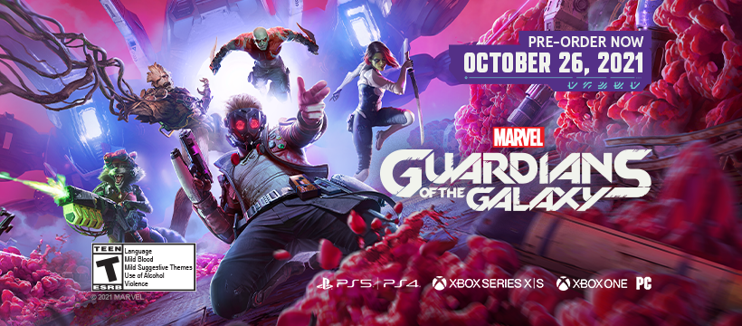 New Story Trailer for Marvel's Guardians of the Galaxy.  And Star-Lord releases single.