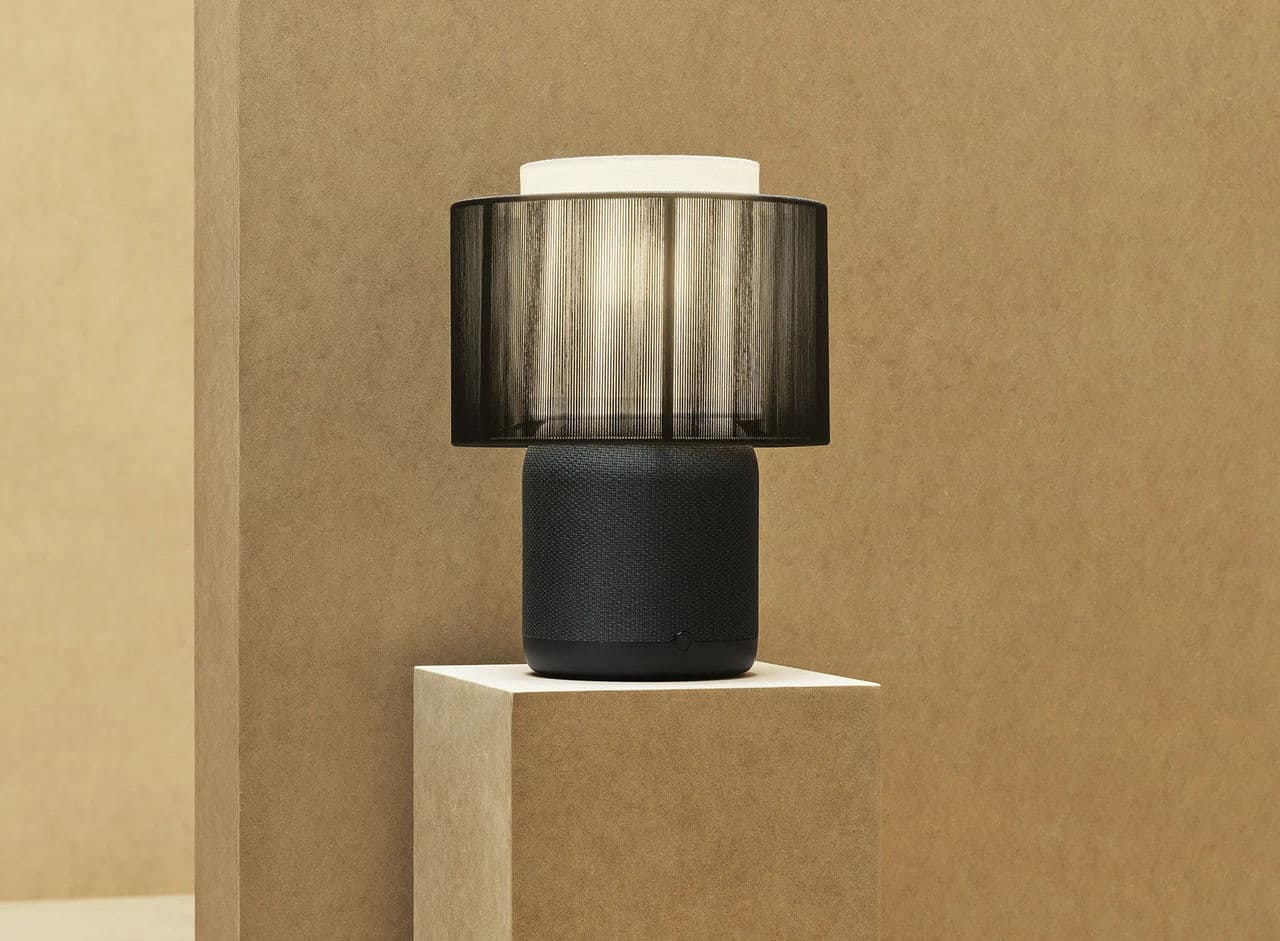 IKEA and Sonos have now presented a new Symphonic lamp