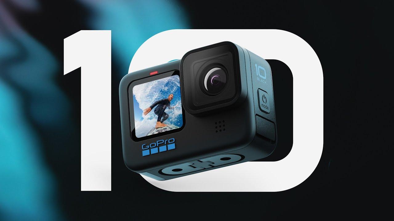 GoPro presents the Hero 10 Black