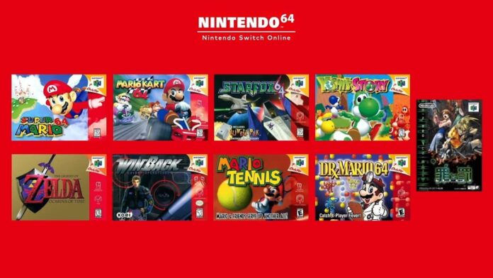 Nintendo Switch Online expands with N64 games