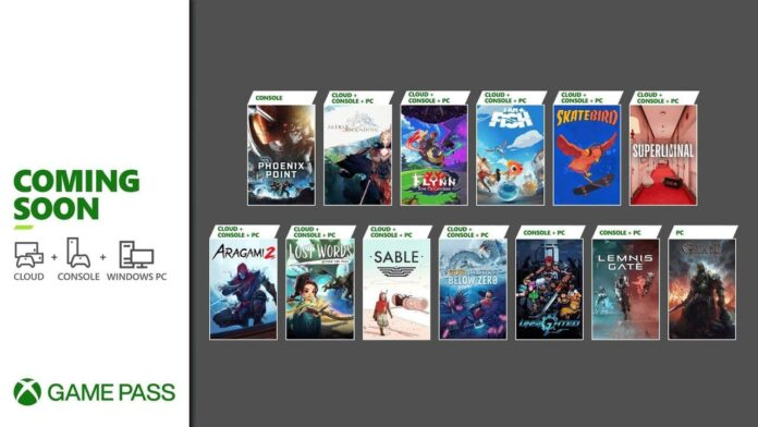 New games for Game Pass with several interesting titles
