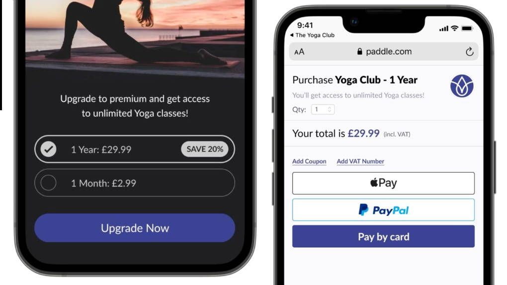 Paddle presents the first alternative to Apple's buy-in app