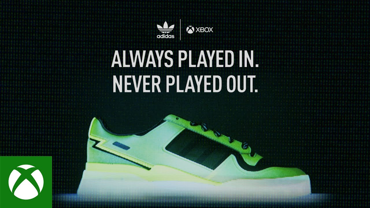 Xbox celebrates 20 years with sneakers that stand out