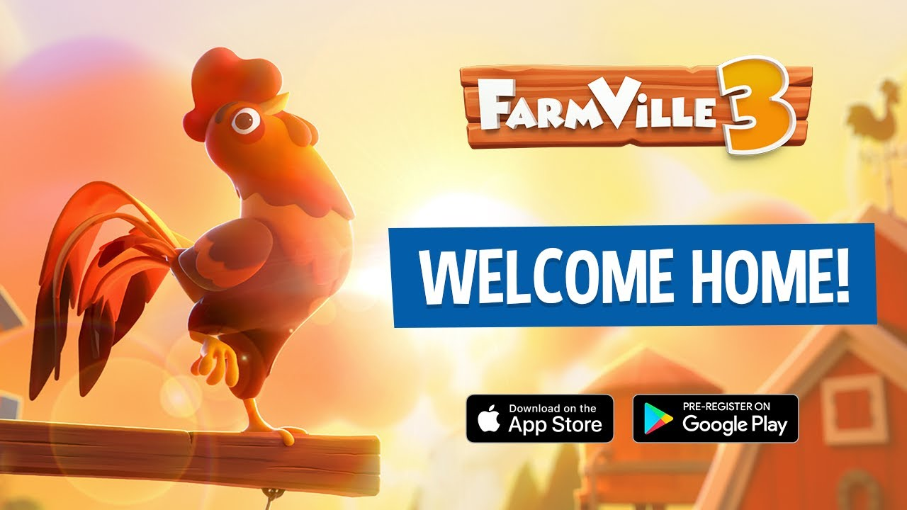 Farmville 3 has been given a release date