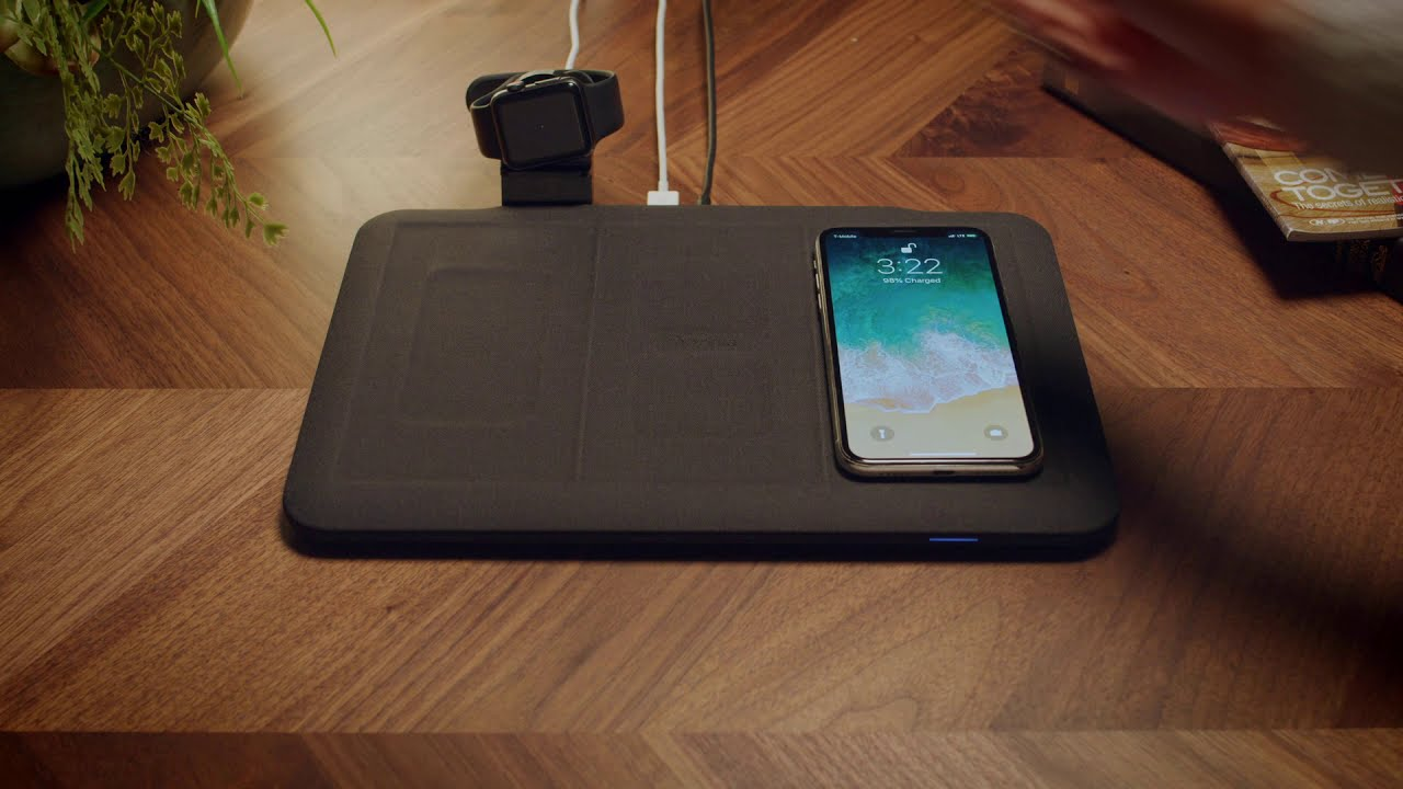 Mophie has released a long-awaited charging mat