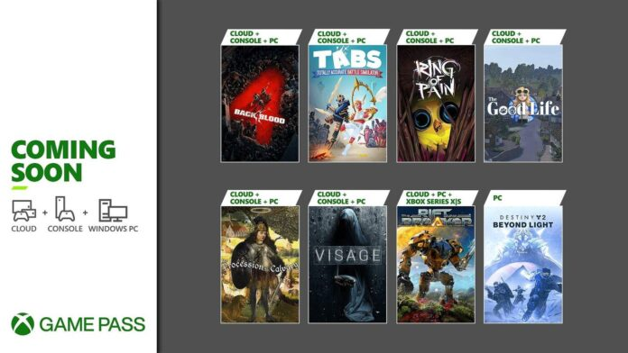 Xbox Game Pass games for October impress